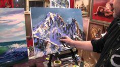 Высоко в горах 165 Видео урок живописи.Игорь Сахаров