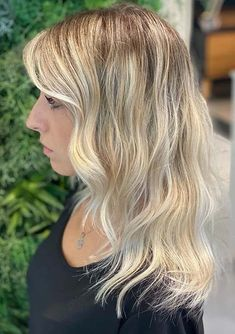 You may find here unique ideas of blonde hair colors for long and mid length haircuts. If you are looking for fresh hair coloring ideas to dye your hair for new season then we recommend you to check out these awesome blonde hair color trends to sport in 2020. Haircuts, Hairstyles, Fresh Hair, Hair Color Highlights, Hair Coloring, Makeup Trends, Mid Length, Color Trends, Your Hair