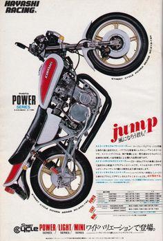 Kawasaki by Hayashi Racing Motorcycle Posters, Retro Motorcycle, Japanese Motorcycle, Vintage Motorcycles, Cars And Motorcycles, Car Station, Moto Car, Garage Bike, Pocket Bike