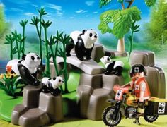 Playmobil 5272 WWF-Pandaforscher im Bambuswawald