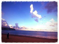 Swanage Beach,  Dorset.