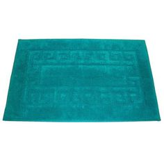 Electric Blue Cotton Loop Bath Mat Would Love This For My Bathroom