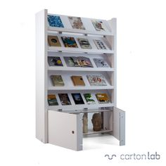 Revistero estantería diseño exclusivo, ideal para organización de libros, revistas, folletos, etc. Magazine shelf design exclusive, ideal for organizing books, magazines, brochures, etc.