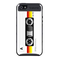 Cassette tape Skin-it case iPhone 5 Covers  $53.60  #iphone #cases #iphone5 #cover #apple #cool #cute