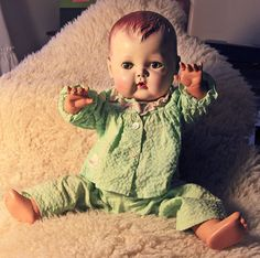 Vintage Doll, Tiny Tears, early 1950s, very good condition