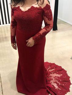 Plus Size Prom Dresses,Plus Size bridesmaid dresses,mermaid prom dress - SheerGirl