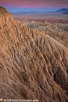 Font's Point, Anza-Borrego Desert State Park, California.