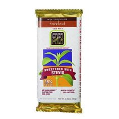 Coco Polo Chocolate Bar - 39 Percent Milk Hazelnut - Case Of 10 - 2.82 Oz Bars