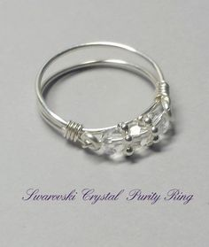 Hey, I found this really awesome Etsy listing at https://www.etsy.com/listing/216541720/purity-ring-swarovski-crystal-band
