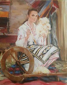Bulgarian, Flower Art, Folk Art, Fairy Tales, Art Gallery, Embroidery, Artist, Artwork, Painting