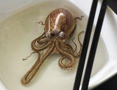 Goldfish Salvation par Riusuke Fukahori : Spectaculaires Peintures en 3D et en Resine