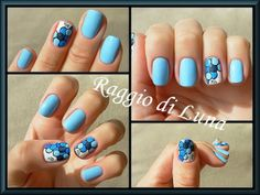 Raggio di Luna can always be counted on to create soothing elegance in nail art.