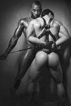 bdsm gay art muscular