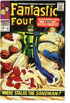 FANTASTIC FOUR #61 SILVER SURFER CAMEO EARLY ISSUE 1966  SHARP AND GLOSSY NM-