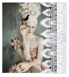 """""""Lace"""" by lvmud on Polyvore featuring art"""