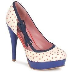 Fornarina ss 12 #shoes #polkadots