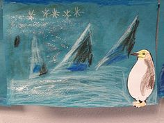 Seeds of Knowledge for Future Generations: Antarctica: Art Lesson in Foreground and Background