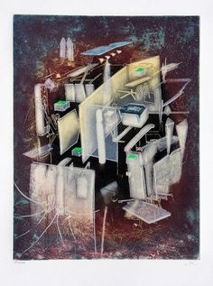 Roberto Matta | Etre Hommonde (1976) | Available for Sale | Artsy Fine Art, Painter, Painting, Fantastic Art, Abstract Artwork, Art, Artsy, Abstract