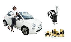 """Lieb Ju 500 - steckt alle in die TASCHE. Fiat 500 Pop Star - Lieb Ju Edition... ein City-Flitzer mit Kult. 99 € Leasing ohne Anzahlung inkl. Geschenke von Lieb Ju & The One Day product line im Wert von ca. 1.250 €  -> Mehr Info unter: http://liebju.com/LIEB-Ju-500/ Leasingangebot für das Modell Fiat 500 Pop Start """"Lieb Ju"""". • Klimaanlage • Zentralverriegelung • elektr. Fensterheber • Infotainment System Uconnect • u.v.m. Fiat Niederlassung Rhein-Ruhr Essen"""