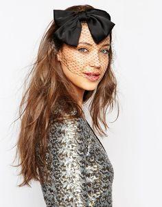Rock+'N+Rose+Phoebe+Halloween+Veiled+Bow+Headband