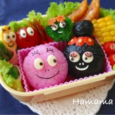 Barbapapa bento box