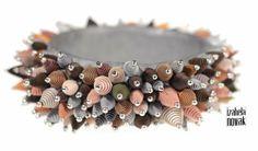 Contemporary Jewelry / Polymer Clay / Fimo / www.facebook.com/izabelanowakdesign