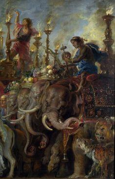 RUBENS, Peter Paul Flemish Baroque Era (1577-1640)_A Roman Triumph ca 1630 DETAIL Cool Paintings, Beautiful Paintings, Greek Mythology Tattoos, Roman Mythology, Rubens Paintings, Archangel Raphael, Baroque Art, Academic Art, Peter Paul Rubens