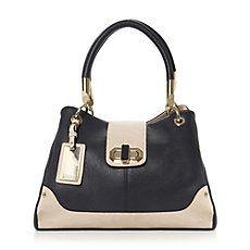 DAYLA - Multiple Compartment Turn Lock Detail Shoulder Bag
