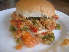 Vegan Kitchen Gone Wild: Quinoa Veggie Not So Sloppy Joe's