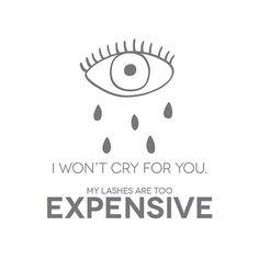 Ain't gonna happen! #eyelashextensions #lashes #amazinglashstudiomonarchbeach #orangecounty