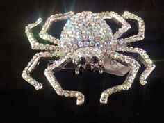 Butler and wilson style Austrian crystal Quality Spider crystal brooch Fashion