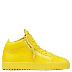 KRISS - YELLOW - Mid Tops