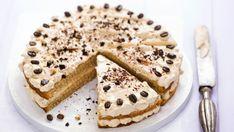 Kávová torta latte krémom | Recepty.sk Mocha Cake, Latte, Apple Pie, Creme, Mint, Ethnic Recipes, Desserts, Food, Mascarpone