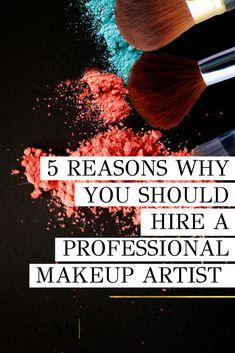 5 Reasons Why To Hire A Pro Makeup Artist - Natalie Setareh How To Wear Makeup, Learn Makeup, Best Makeup Tips, Best Makeup Products, Makeup Hacks, Easy Makeup Tutorial, Makeup Tutorial For Beginners, Power Of Makeup, Makeup Needs
