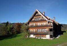 typisches Toggenburger Bauernhaus