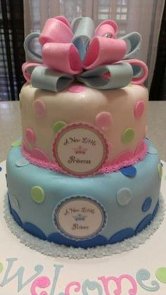 Twin Shower Cake Ideas Babyshower Cake For Twins With