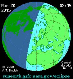 Solar Eclipse 20th of March 2015 - From Cambridge, we expect to see more than 3/4 of the Sun blocked out. http://www.ast.cam.ac.uk/public/cambridge.science.festival.activities/solar.eclipse