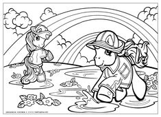 My Little Pony Coloring Pages 32 #25524 Disney Coloring Book Res