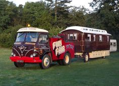 1970/71 Foden and showman's living wagon