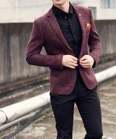 d8923388b086 Mens Clothing   Blazer   Men's Cotton & Wool Casual Blazer   Mens Suit –  Zorket #MensFashionNIghtOut