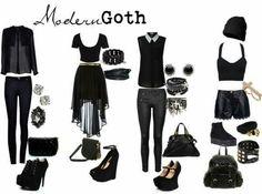 Modern Goth ..