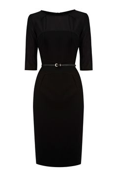 classic black dress a must have.   spring/summer clothing ...