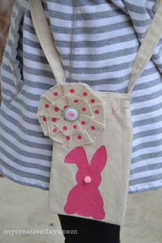 mycreativedays: DIY Easter Egg Hunt Bag