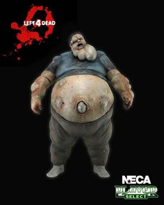 Left For Dead Player Select Boomer Figure