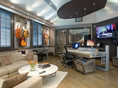 Home music studio..awesome.  http://pinterest.com/pin/268316090270824683/