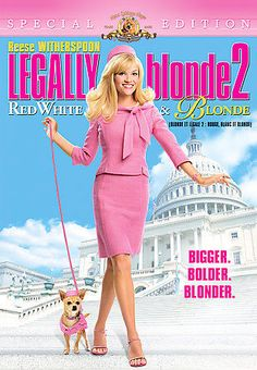 Legally Blonde 2: Red, White and Blonde (DVD, 2008, Special Edition) NEW SEALED