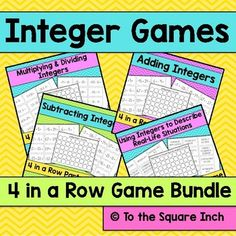 Integers Games Bundle