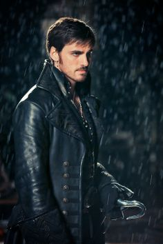 Killian Jones / Captain Hook. No, not the rain. I'm not sure I can handle him in the rain.<-- hahaha