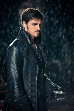 Killian Jones / Captain Hook. No, not the rain. I'm not sure I can handle him in the rain.<-- hahaha