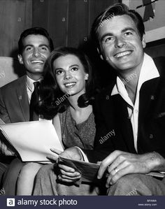 george-hamilton-natalie-wood-robert-wagner-all-the-fine-young-cannibals-BPA96A.jpg (1097×1390)